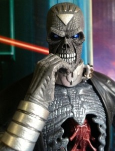 Close-Up of DC Universe Classics Nekron Series 20 Build-A-Figure Action Figure DCUC