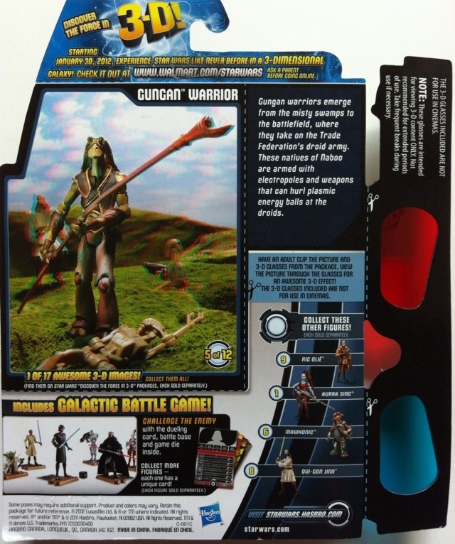 TOY REVIEW: Gungan Warrior Star Wars Action Figure 2012