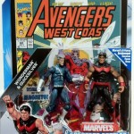 Packaged Quicksilver and Wonder Man Marvel Universe Comic Two Pack Action Figures