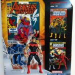 Cardback Quicksilver and Wonder Man Marvel Universe Comic Two Pack Action Figures