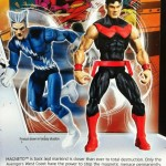Cardback from Quicksilver and Wonder Man Marvel Universe Comic Two Pack Action Figures