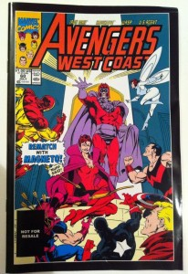 West Coast Avengers #60 from Marvel Universe Quicksilver and Wonder Man Comic Two Pack Greatest Battles