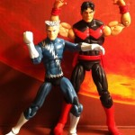 Quicksilver and Wonder Man Marvel Universe Comic Two Pack Action Figures
