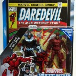 Packaged Daredevil and Bullseye Marvel Universe Greatest Battles Comic Pack Action Figures