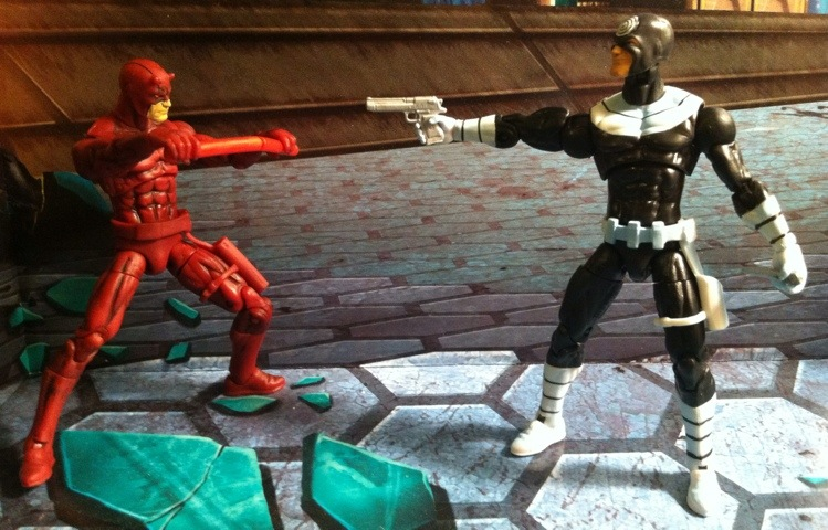 Daredevil and Bullseye Marvel Universe Greatest Battles Comic Pack Action Figures Two