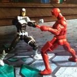 Marvel Universe Daredevil vs. Bullseye Greatest Battles Comic Pack Action Figures