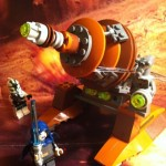 LEGO Star Wars Geonosian Cannon 9491 Set 2012