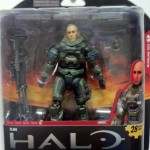 Packaged Halo Reach Series 6 Jun Noble-3 Action Figure Unhelmeted McFarlane Toys 2012