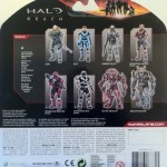 Cardback Halo Reach Series 6 Jun Noble-3 Action Figure Unhelmeted McFarlane Toys 2012