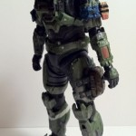 Halo Reach Series 6 Jun Noble-3 Action Figure Unhelmeted McFarlane Toys 2012