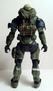 Jun Halo Reach Series 6 Action Figure Unhelmeted McFarlane Toys 2012