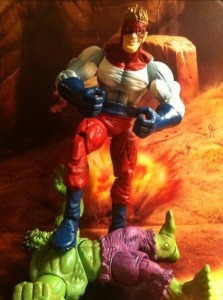 Hulk vs. Piledriver Wrecking Crew Marvel Legends Series 2 Variant Action Figure 2012 Hasbro