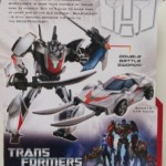 Cardback Transformers Prime Wheeljack Deluxe Revealers Toy 2012 Hasbro