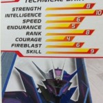 Tech Specs Transformers Prime Soundwave Deluxe Revealers 2012 Toy