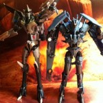 Soundwave and Starscream Transformers Prime Deluxe Revealers 2012 Hasbro Toy