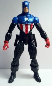 Marvel Legends Captain America Bucky Series 2 2012 Hasbro