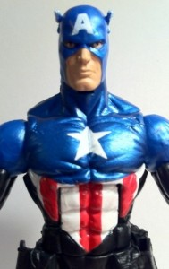 Close-Up Marvel Legends Captain America Bucky Series 2 2012 Hasbro