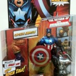 Packaged Marvel Legends Captain America Bucky Series 2 2012 Hasbro