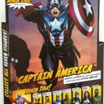 Cardback Marvel Legends Captain America Bucky Series 2 2012 Hasbro