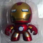 Packaged Iron Man The Avengers Movie Mini Muggs Action Figure 2012 Hasbro