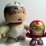 Mighty Muggs Short Round from Indiana Jones and Avengers Iron Man Movie Mini Muggs Action Figure 2012 Hasbro