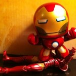 Marvel Universe Iron Man vs. Avengers Iron Man Movie Mini Muggs Action Figure 2012 Hasbro