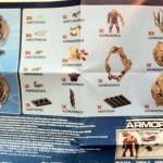 Instructions Contents from Halo Mega Bloks Flood Drop Pod Elite Combat Form Set 96929