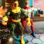 Marvel Legends Thunderball and Piledriver of the Wrecking Crew Action Figures 2012