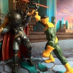 Marvel Legends Thunderball Crushes Thor Action Figures 2012
