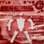 Arnim Zola Assembly Instructions from Marvel Legends Madame Masque 2012 Series 2 Action Figure