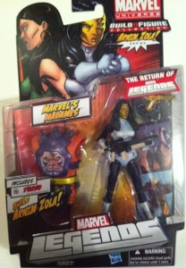 Marvel Legends 2012 Series 2 Madame Masque Action Figure Packaged
