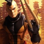 Marvel Legends Series 2 Dark Wolverine Unmasked Variant Daken 2012 Action Figure