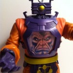 Variant Head Marvel Legends Arnim Zola Build-A-Figure Series 2 2012 Action Figure