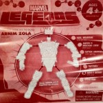 Assembly Instructions Marvel Legends Arnim Zola Build-A-Figure