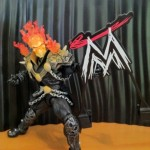 Ghost Rider Attacks with WWE Logo Sign from the Mattel Interview Set Playset