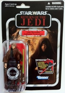Packaged Vintage Collection Luke Skywalker Lightsaber Construction VC87 Deleted Scenes Action Figure
