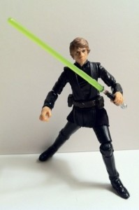 Posed Star Wars Vintage Collection Luke Skywalker Lightsaber Construction VC87 Deleted Scenes Action Figure