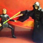 Emperor Palpatine vs. Star Wars Vintage Collection Luke Skywalker Lightsaber Construction VC87 Deleted Scenes Action Figure