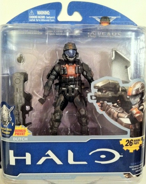 Halo 1 Figure Toys Review Mcfarlane Anniversary Dutch Series Odst Action bvfg76yIY