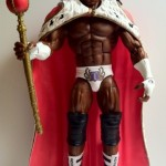 Front of Flashback King Booker Action Figure from Mattel WWE Elite Series 14 2012