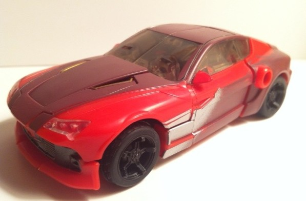 Transformers Prime Knock Out Sports Car Mode 2012 Hasbro
