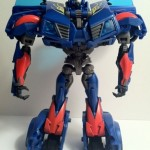 Front Transformers Prime Hot Shot Toy Deluxe Figure 2012 Hasbro