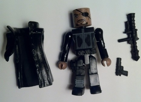 Avengers Movie Minimates Nick Fury Action Figure Disassembled