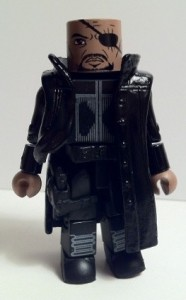 Avengers Movie Minimates Nick Fury Action Figure 2012