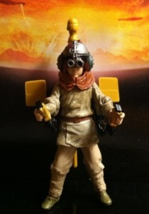 Movie Heroes Anakin Skywalker Action Figure MH14 Moon Backdrop
