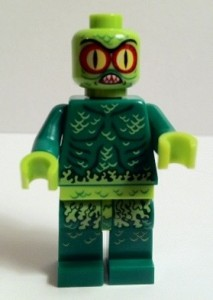 Swamp Creature Minifigure without Mask 9461 LEGO Monster Fighters The Swamp Creature 2012 Set