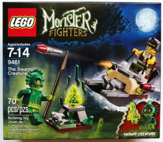 Box Front 9461 LEGO Monster Fighters The Swamp Creature 2012 Set