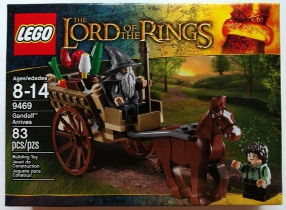 Box Front LEGO 9469 Lord of the Rings Gandalf Arrives