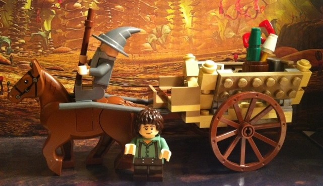 Completed Set LEGO Lord of the Rings 9469 Gandalf Arrives 2012