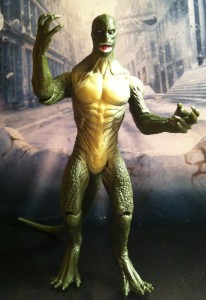 Lizard Amazing Spider-Man Movie Action Figure Rampages 2012 Hasbro
